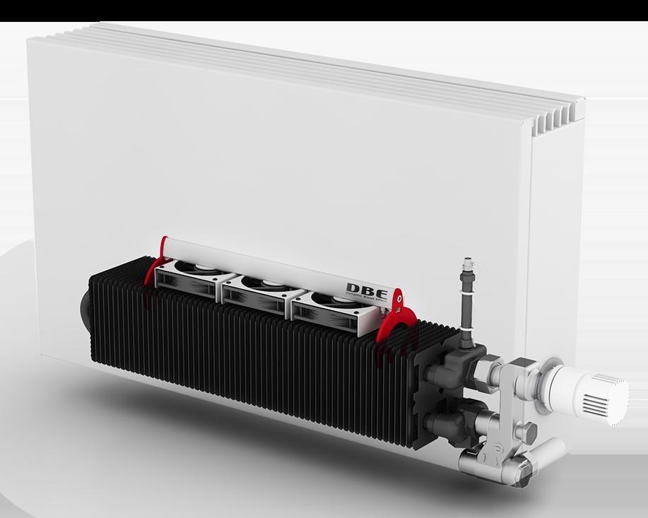 laag temperatuur radiator voor warmtepomp