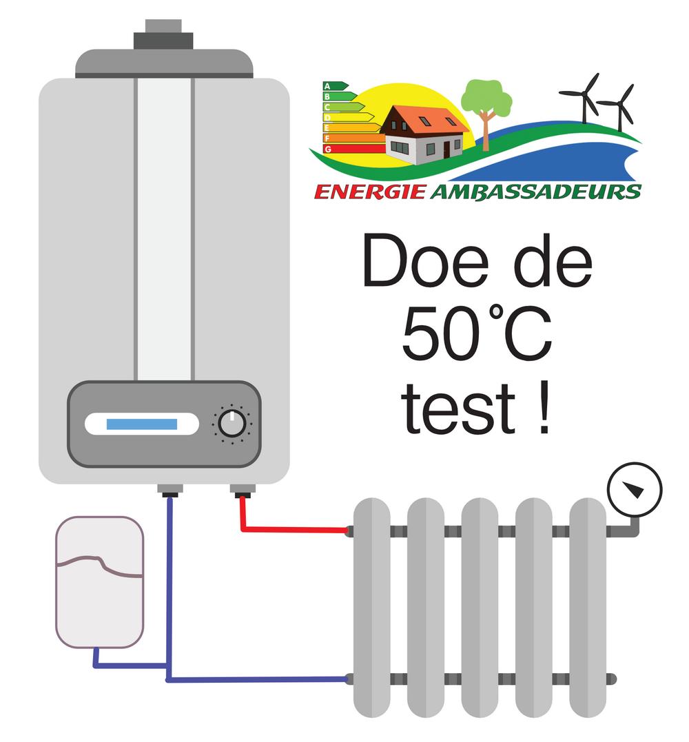 50 graden test