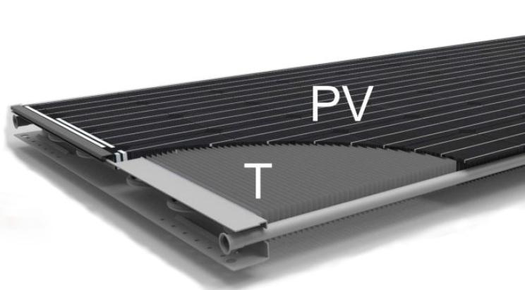 PVT paneel warmtepomp