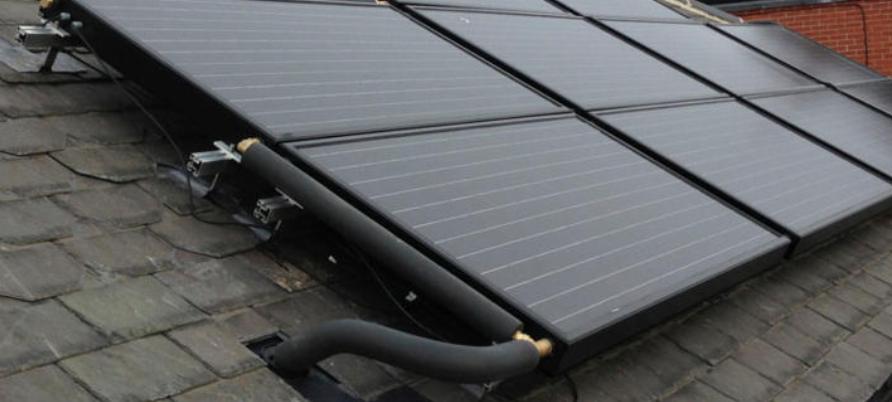 PVT paneel voor warmtepomp