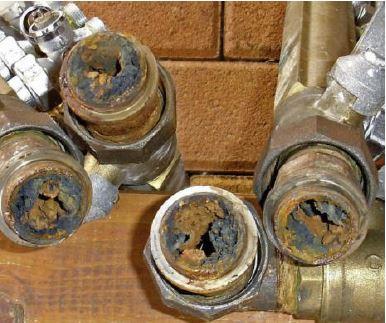 Vuil in leidingen van cv warmtepomp