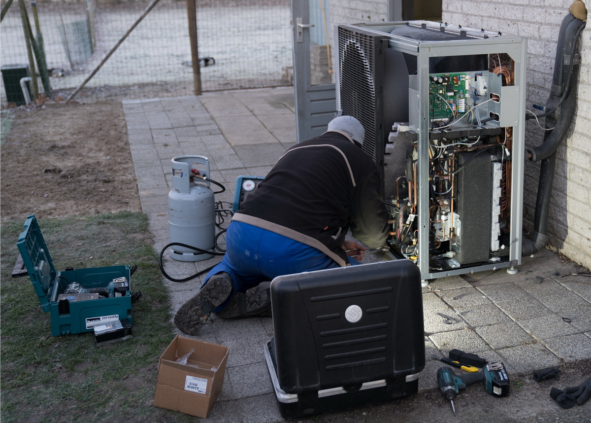 Warmtepomp service op locatie