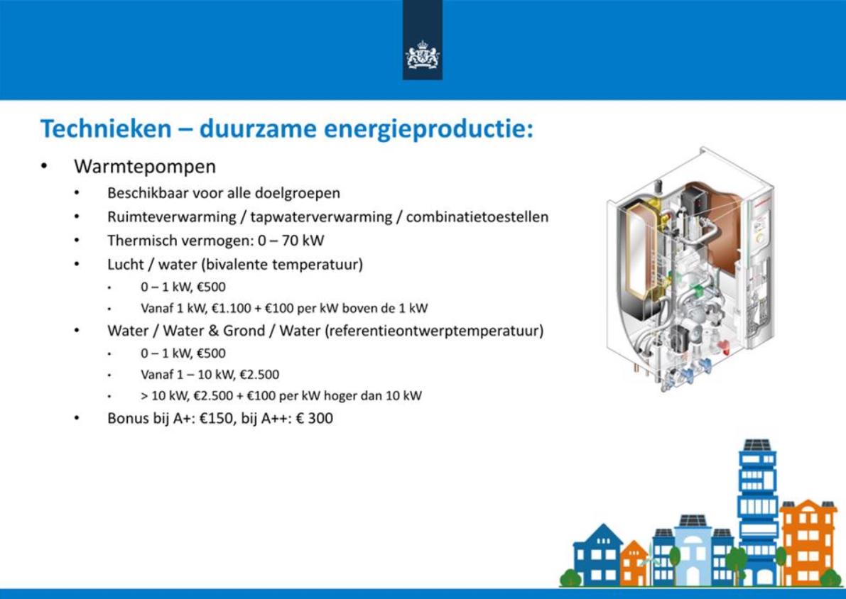 subsidie warmtepompen 2021 isde