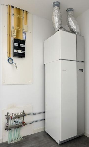 ventilatieluchtwaterwarmtepomp