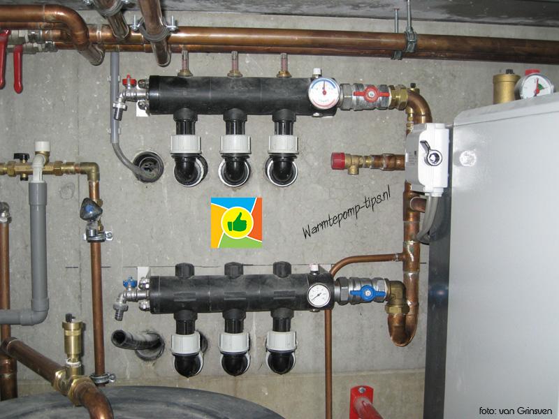 Warmtepomp bronverdeler